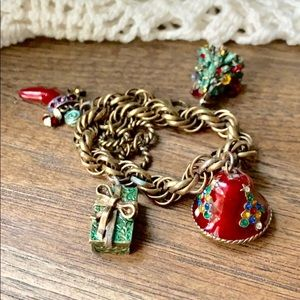 Christmas Charm Bracelet by Sweet Romance